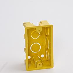 Caixinha de Luz Amarela 4x2