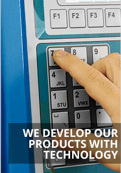 We Develop Our Products With Technology