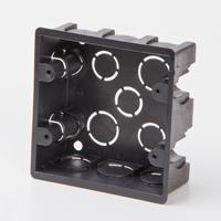 Black Outlet Box 4x4